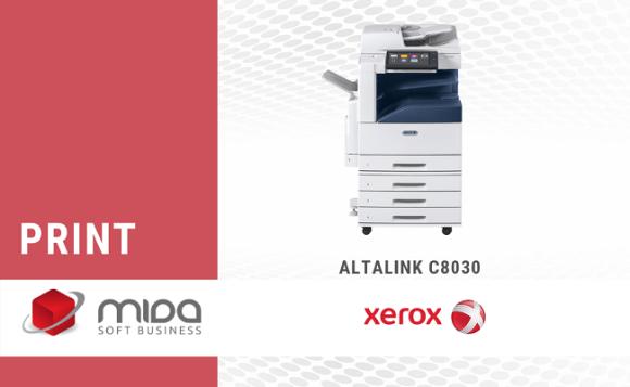 Xerox AltaLink C8030 – inteligentă și productivă