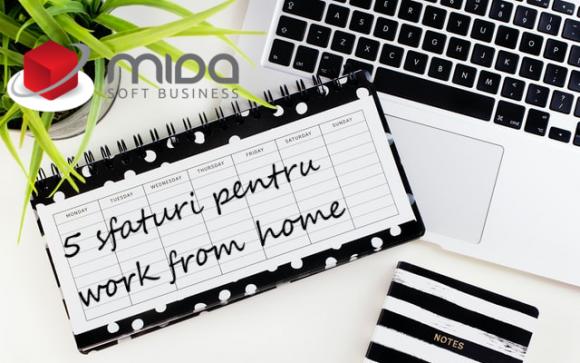 5 sfaturi pentru work from home
