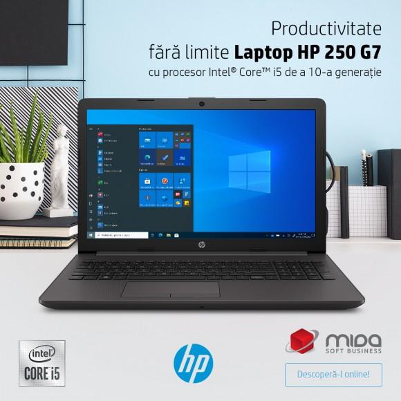 Productivitate fără limite – Laptop HP 250 G7
