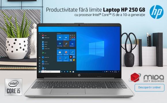 Productivitate fără limite – Laptop HP 250 G8